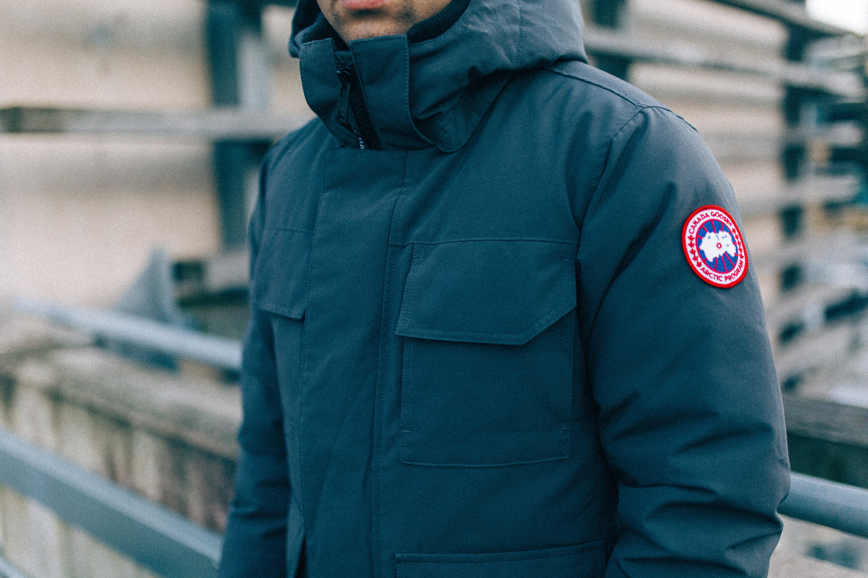 CANADA GOOSE shell parka jacket